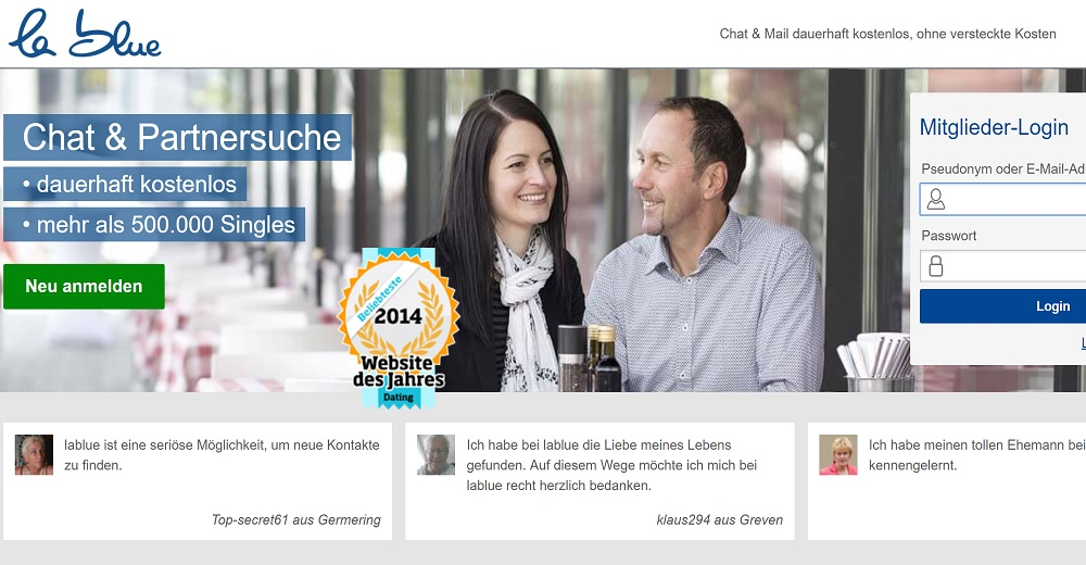 Wir neue Dating-Website