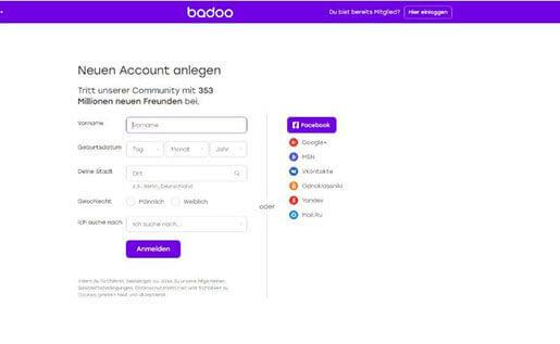 Badoo kostenlose online-dating